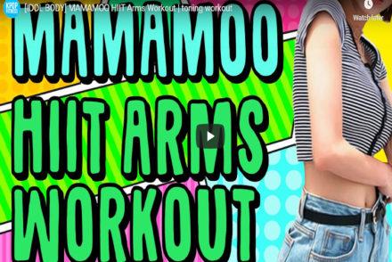 Kpop Workout Mamamoo Arms